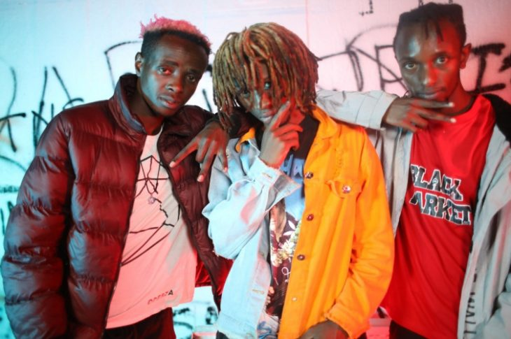 From Left: Odi Wa Murang, a, Exray and Edu Maddox