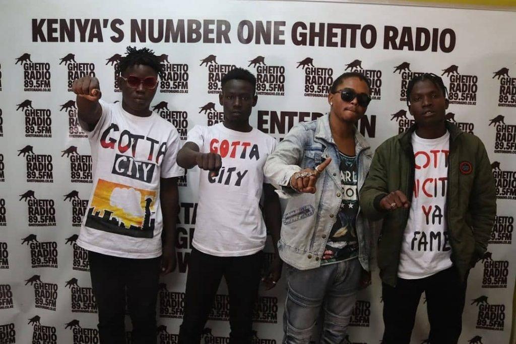 Stoopid Boy, Liyetin, Madocho wa Kanairo and Pingo of Gotta City