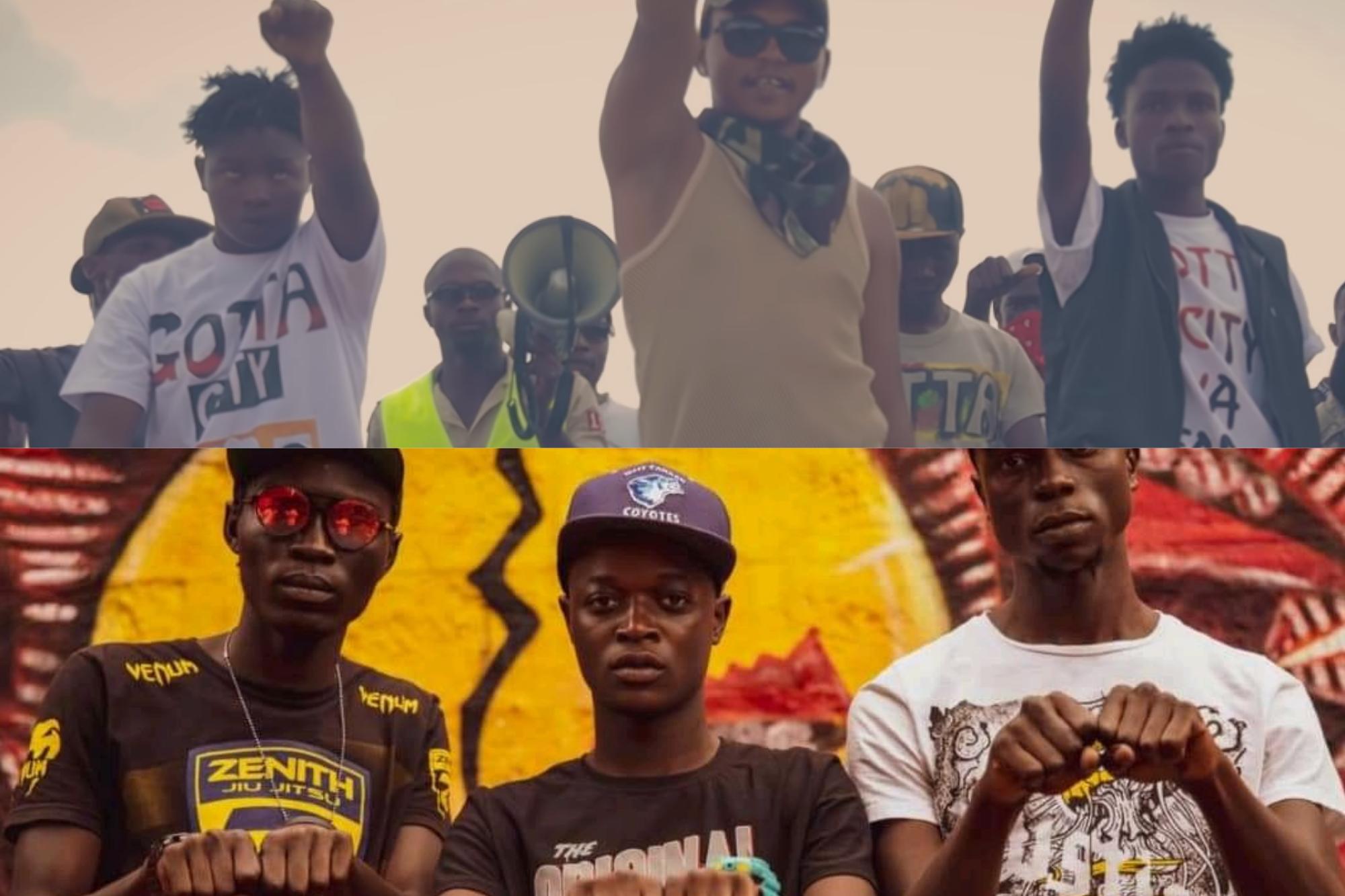 Gotta City (top) and Mbogi Genje