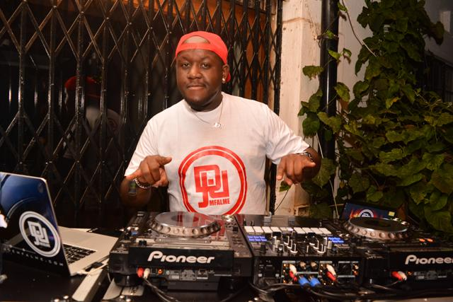 DJ Joe Mfalme in action. One of his mixes inspired a viral Tik Tok trend sweeping across the internet.