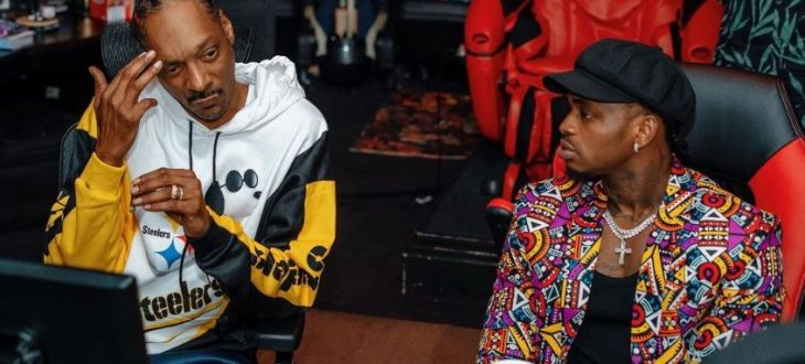 Snoop Dogg pictured with Diamond Platnumz. A 360 partnership he signed in May 2021 is shaping the next phase of Diamond's career.